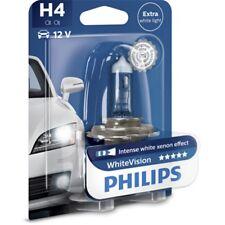 PHILIPS WhiteVision H4 12V 60/55W P43t-38 1er Blister Glühlampe - 12342WHVB1