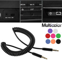 Aux Auxiliary Cord  Jack Male to Male  Car Wire Line 3.5mm Stereo Audio Cable
