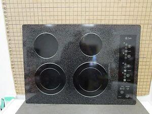 "GE Range Glass Cooktop WB61T10118  20 7/8"" x 29 7/8"" ASMN"