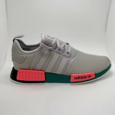 NEW adidas Originals NMD_R1 Boost FX4353 GRY/GRN/BLK SHOES