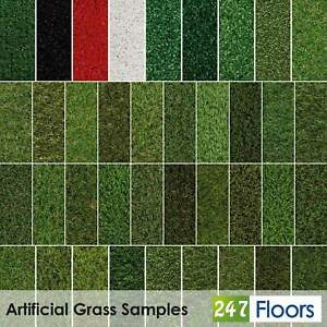 Artificial Grass CHEAP Sample Fake Grass 2m 4m 5m Realistic Astro Turf 30mm 40mm