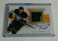 R11,847 - DOMINIK SIMON - 2016/17 SP AUTHENTIC - RC AUTOGRAPH PATCH - #51/100