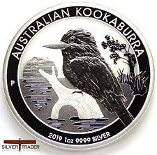 2019 1oz Australian Silver Kookaburra 1 ounce Silver Bullion Coin unc: