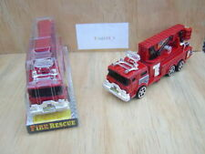 Unbranded Plastic Diecast Fire Vehicles