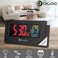 Digoo DG-C8 Digital Wecker LCD Funk Mit Lichtsensor Hintergrundbeleuchtung