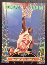 1992-93 Stadium Club Beam Team Michael Jordan  #1  Rare Insert