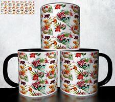 MUG Design Tasse à café - Tête de mort Skull Halloween 1026