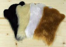 Teppich Fell klein Miniatur Bärenfell 1:18 Puppenstube Puppenhaus 1:12 Diorama