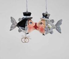 Katherine's Collection Set Of 2 Groom & Groom Ornaments NEW Gay Wedding