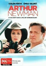 Arthur Newman DVD Movie BRAND NEW RELEASE Colin Firth Emily Blunt R4