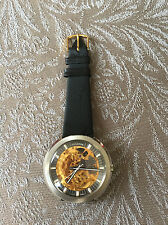 Montre WATCH VULCAIN skeleton  automatic  vintage ancienne 1974