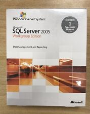 Microsoft SQL Server 2005 Processor Sealed Full Retail Box - ideal add-on proc
