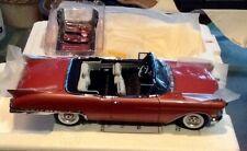 Danbury Mint 1:24 1957 Cadillac Eldorado Biarritz Convertible, original TITLE