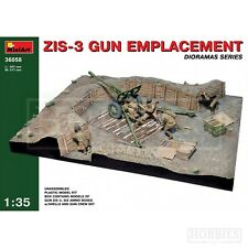 Zis-3 Gun EMPLACEMENT Kit 1 35 MiniArt Min36058 Model