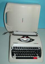 Schreibmaschine Olympia Travleller C , Reiseschreibmaschine Transportable
