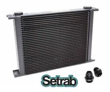 Setrab Oil Cooler P/N 934 (34 Row ) P/N 50-934-7612 with Fittings, Free Ship!