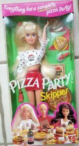 NEW 1994 MATTEL PIZZA PARTY! SKIPPER BARBIE DOLL #12920