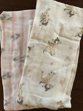 Ideal Baby By Aden And Anais Disney Bambi And Thumper Swaddle Blankets (2)