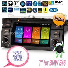 "Android 8.1 Autoradio BMW E46 MG ZT Rover 75 3 Series M3 DAB+ GPS DVR TNT 7""2846"