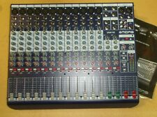 MIDAS DM16 analog live & studio mixer w/midas mic preamp,NEW,no box w/paper.