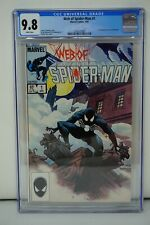 MARVEL COMICS CGC 9.8 WEB OF SPIDER MAN 1 4/85 WHITE PAGES