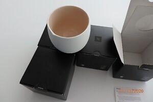 Set of 4 Nespresso Origin Collection Mugs ,NEW with Box, Porcelaine
