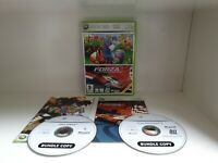 XBOX 360 GAMES BUNDLE FORZA MOTORSPORT 2 + VIVA PINATA GOOD + MANUAL FAST POST