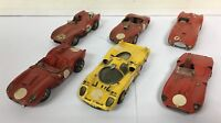 87076 Modellismo 1/43 - Lotto 6 auto Ferrari in metallo - costruiti a mano