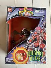 Bandai Mighty Morphin Power Rangers Deluxe Evil Space Aliens Pirantis Head 1994
