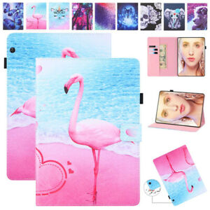 """For Huawei MatePad T10S MediaPad T3 7"""" 8"""" T5 M3 M5 10.1"""" Leather Kids Case Cover"""