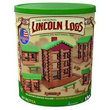 KNEX Lincoln Logs Collectors Ed. Village 327 PC for Ages 3