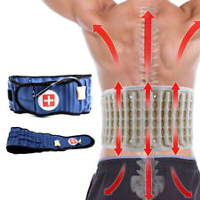 Douleur lombaire Spinal Air Traction Physio Decompression Back Belt Brace SC