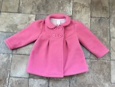 Designer Jasper Conran Girls Pink Coat Aged 18-24 Mths
