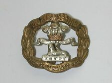 SOUTH LANCASHIRE PRINCE OF WALES VOLS  EGYPT Hat Badge WW1