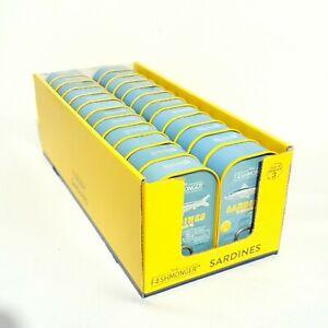24 x 120g Tinned Sardines in Sunflower Oil  - The Fishmonger - Bulk