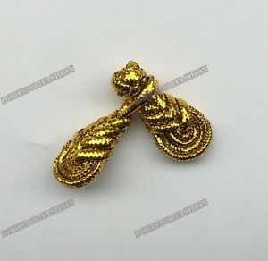 Pipa fabric knot Chinese frog closure fasteners Cheongsam sewing buttons 10 pcs