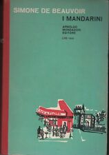 1961: SIMONE DE BEAUVOIR - I MANDARINI - PRIMA ED. IL BOSCO 95 MONDADORI