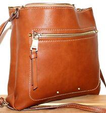 Fiorelli Boho/Hobo Tan Bucket Satchel/Messenger/Shoulder Bag/Purse