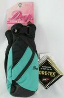 Drop Mitten Gloves Allure ll GTX Series Women's Size: L Black Green Brand NEW