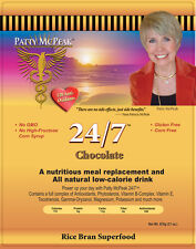 Nanacea 24/7 Chocolate Stabilized Rice Bran Shake Rice N Shine by Patty McPeak