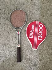 Vintage Wilson T3000 Tennis Racquet With Cover, 4 1/2 Light
