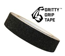 """Gritty Grip Tape - Anti Slip Traction Tape (1"""" x 196"""") Black"""