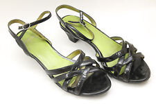 CAMPER women shoes sz  9.5 Europe 41 black leather S6498