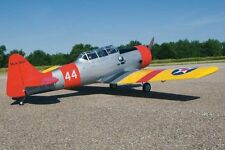 "La Seconde Guerre Mondiale Échelle 1/4 AT6 TEXAN 101"" Giant Scale RC Airplane Imprimé plans"