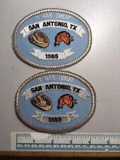 2 1989 San Antonio, Texas Trap Patches