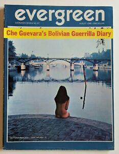 Evergreen Review Magazine August 1968 Vol 12 No 57 Che Guevara Bolivian Diary