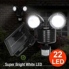 10000LM LED Solar Motion Sensor Light Flood Indoor Outdoor Garden Lamp Spotlight
