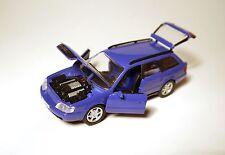 Audi S6 Plus Avant in nagaro blau blue blu bleu, Schabak in 1:43 - SOLO!
