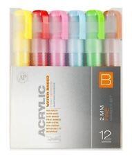 Montana CANS Acrílico Marker Pen Set - 2MM Marcadores Finos-Paquete de 12-conjunto De Color B
