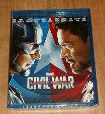 Captain America Civil War Blu-Ray Neu Versiegelt Aktion MARVEL (Ohne Offen ) R2